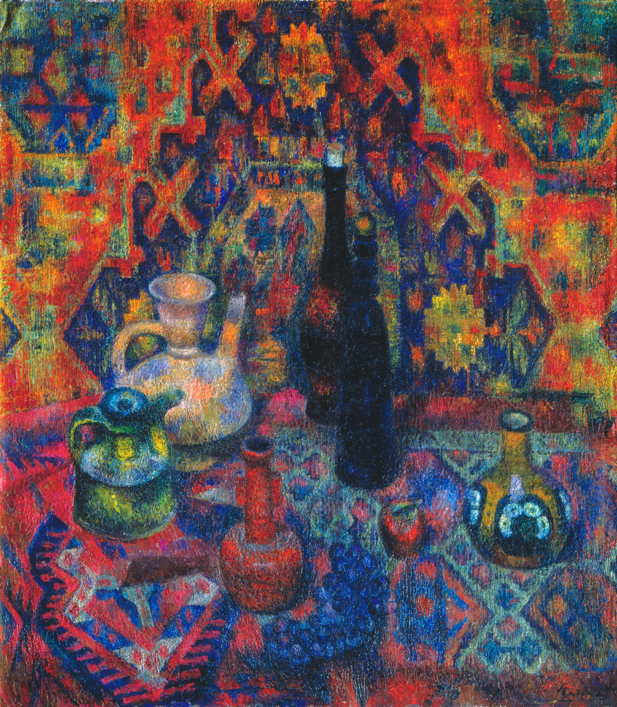 Still life with Oriental carpets Загонек