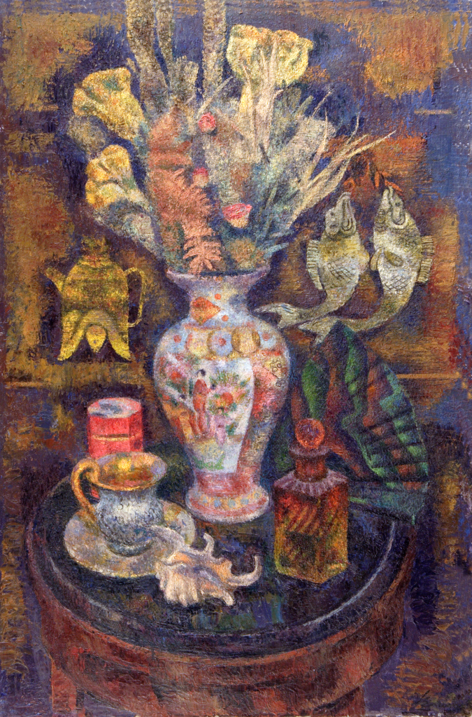 Still life with a Chinese vase Загонек