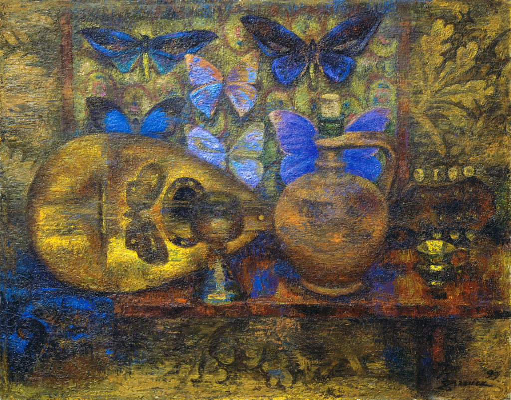 Still life with a mandolin Загонек