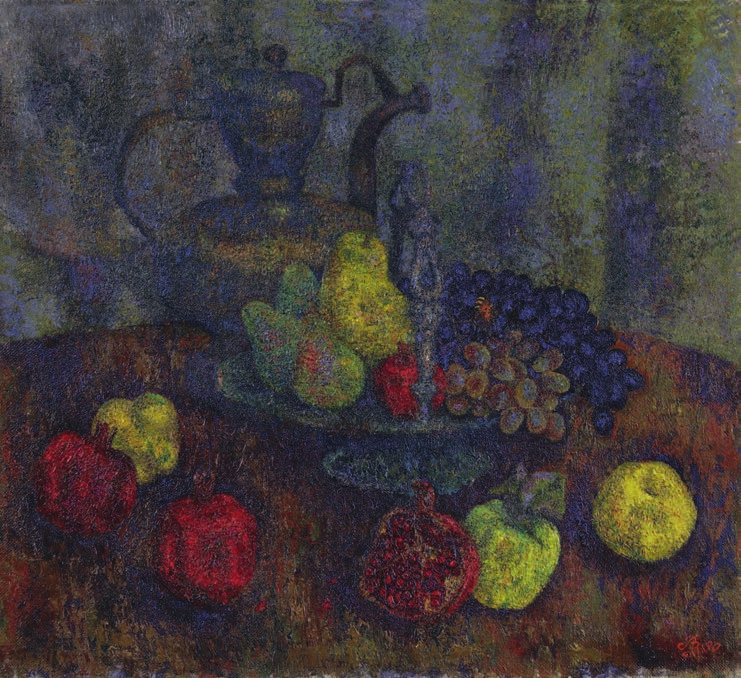 Still life with fruits Загонек