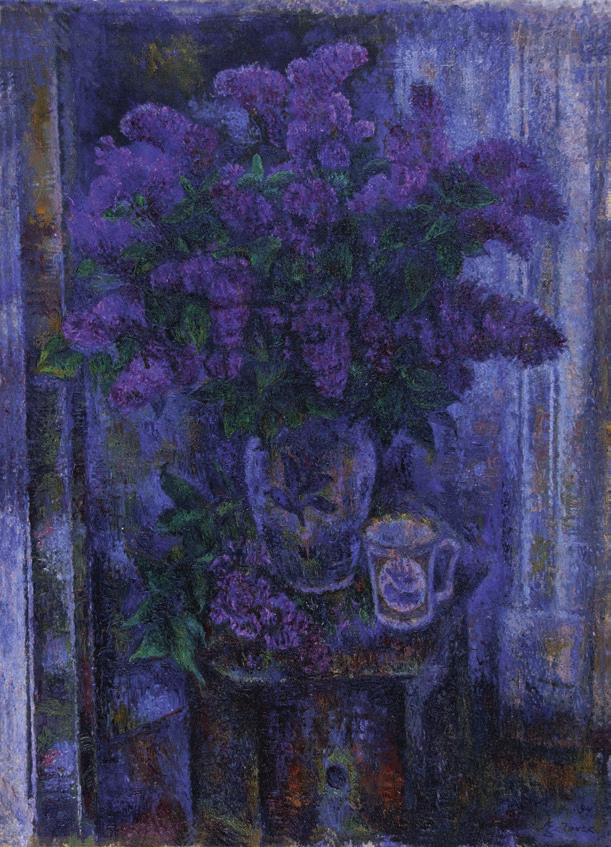 Lilacs bouquet Загонек